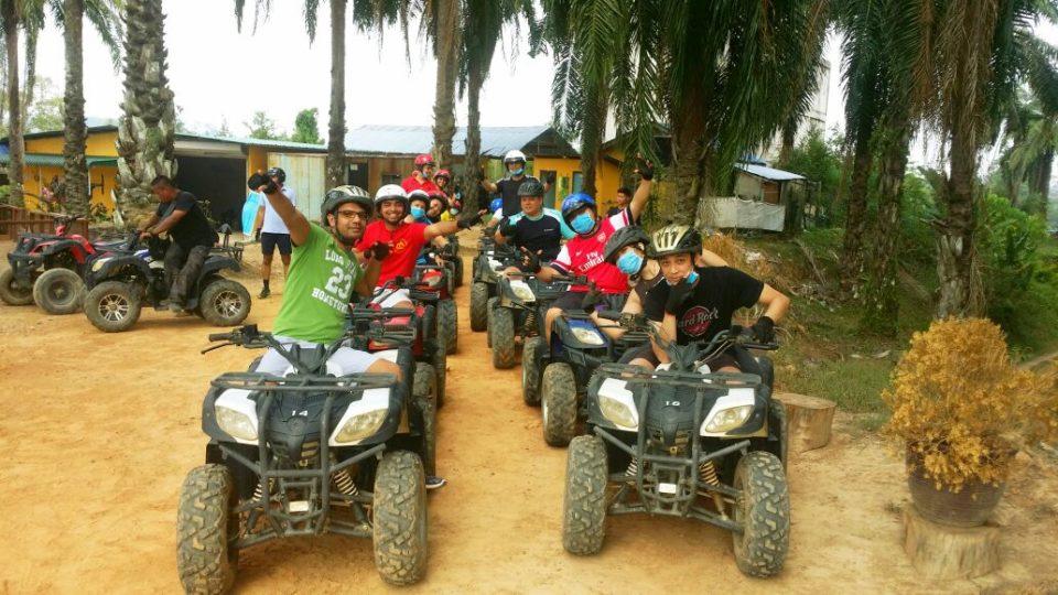 All Terrain Vehicle (ATV) yang disediakan di Caravan Serai Bentong