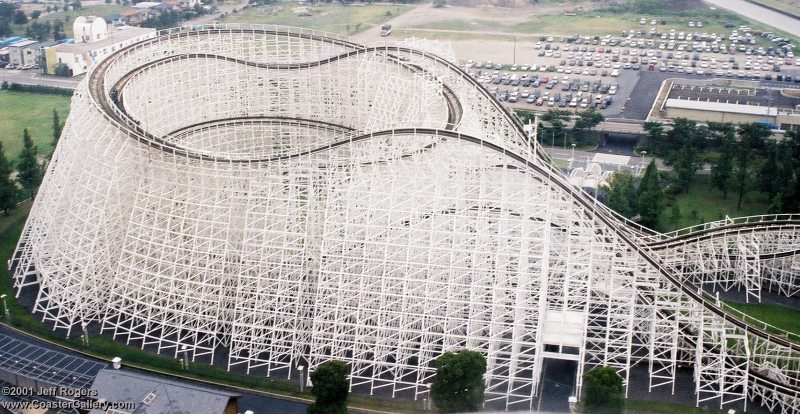 Top 10 Tallest Wooden Roller Coaster In The World