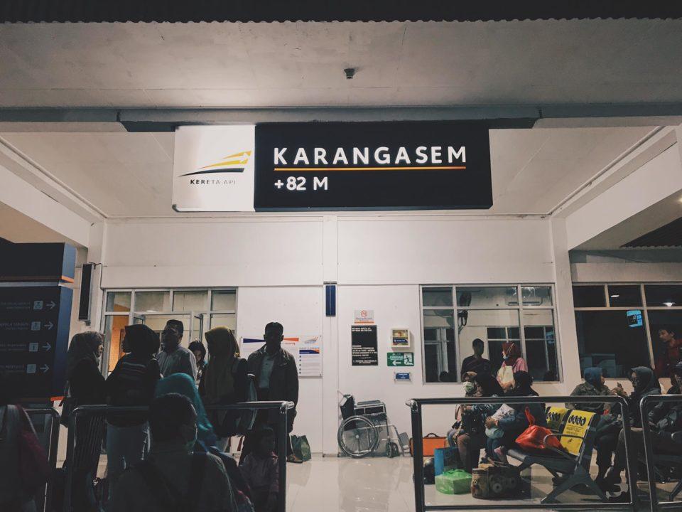 Station Karangasem, Banyuwangi